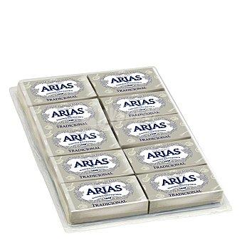 ARIAS Mantequilla en porciones individuales envase 10 unidades