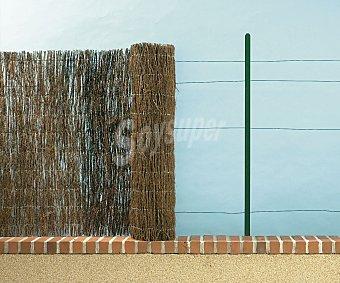 GARDELYS Tejido de brezo natural unido mediante alambre galvanizado cada 10 centímetros 1 unidad