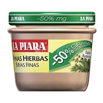 La Piara Paté a las finas hierbas -50% grasa Tarro 100 g