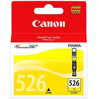 CANON CLI-526 Cartucho de tinta color amarillo