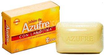 GRISI Jabón de azufre con lanolina (útil en el tratamiento del acné) 100 Mililitros