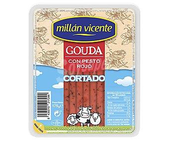 Millan Vicente Queso cortado gouda con pesto rojo 175 g