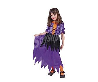 HAUNTED HOUSE Disfraz infantil Bruja Pretty, talla grande L, de 8 a 10 años L