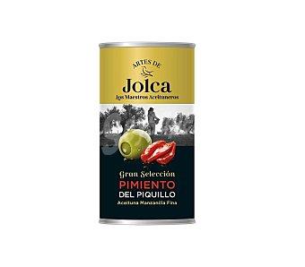 Artes de jolca Aceitunas rellenas con pimiento del Piquillo Bote de 350 gr neto