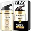 Total Effects CC Cream 7 en 1 SPF-15 claro a medio dosificador 50 ml dosificador 50 ml Olay