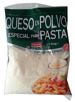 Hacendado Queso rallado polvo pasta Paquete 150 g