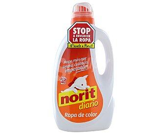 Norit Detergente para ropa de color 40 lavados