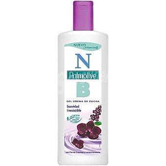 Palmolive gel de baño Flor de Orquídea y Leche Hidratante con vitamina E Botella 600 ml