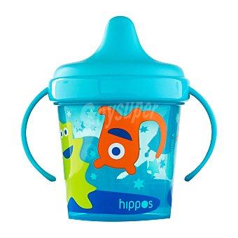 Deliplus Vaso bebe antigoteo azul U