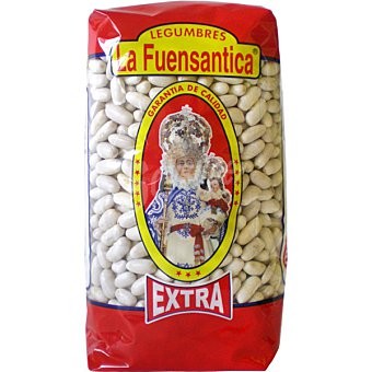 La fuensantica Alubia blanca larga extra Paquete 1 kg