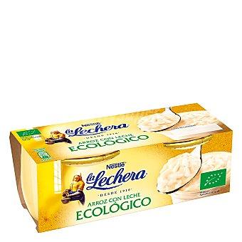La Lechera Nestlé Arroz con leche ecológico Nestlé La Lechera Pack de 2 unidades de 100 g