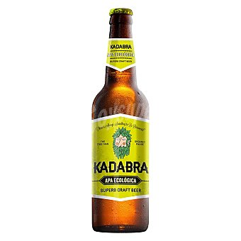 Kadabra Cerveza premium kadabra pale ale ecologica 33 cl