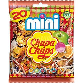 Chupa Chups Caramelo con palo mini 20 ud