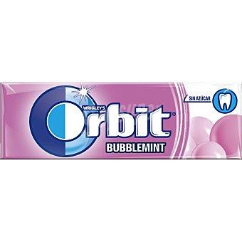 Orbit Chicles sabor bubblemint Paquete 13 g (10 uds)