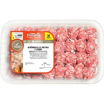 CASA DE PENALVA Albóndigas de ternera y cerdo peso aproximado Bandeja 450 g