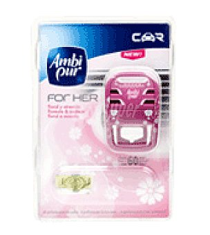 AmbiPur Ambientador car for her Pack de 2x7 ml