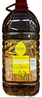 Hacendado Aceite oliva sabor suave Lata 5 l