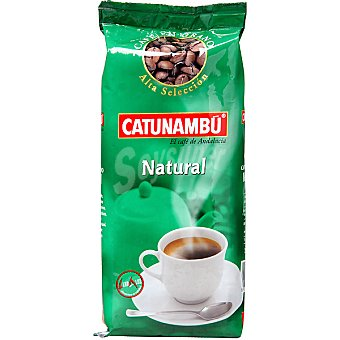 Catunambu Café natural en grano Paquete 250 g