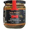 Garbanza con espinacas Frasco 325 g Don Pedro