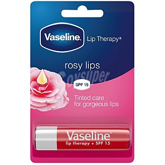 4 G Vaselina para labios rosy lips SPF15 Vaseline 4 g
