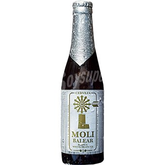 MOLI BALEAR Cerveza de trigo blanca de Mallorca  Botella 33 cl