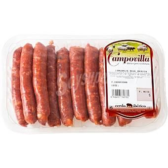 Campovilla Longaniza roja de cerdo ibérico Bandeja 350 g
