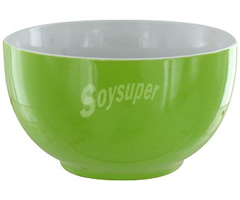 GSMD Bol o tazón de desayuno con capacidad de 500 mililitros color verde liso, modelo Ikas 1 Unidad
