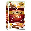 Infusión ginger chai Infuso twinings, caja 20 uds Caja 20 uds Twinings