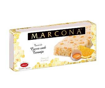 Marcona Turrón de yema con naranja 250 g