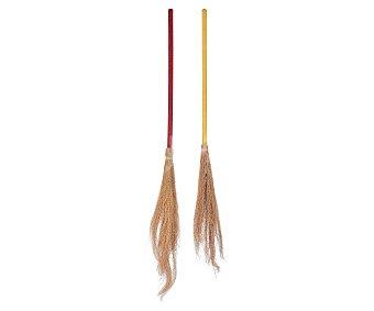 Llopis Escoba Lurex para disfraz de bruja, 95 centímetros de alto Escoba 95cm