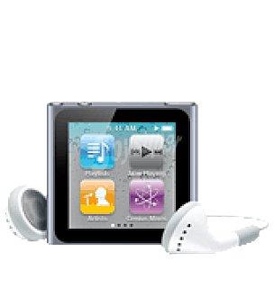 Appel Ipod nano 8GB grafito 6ª gener Unidad