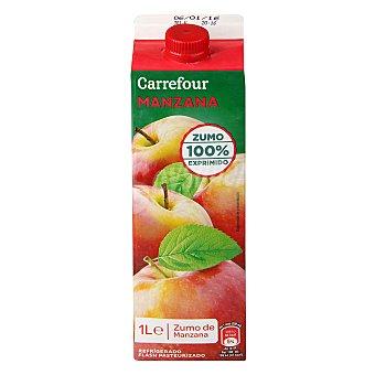 Carrefour Zumo Refrigerado Natural Manzana 1 l