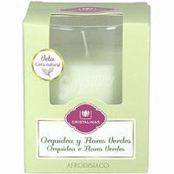 Cristalinas Vela ambientador orquidea Pack 1 unid