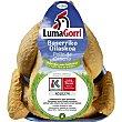 Pollo label lumagorri pollo limpio de caserío para asar peso aproximado Bandeja 1,4 kg Eusko Label
