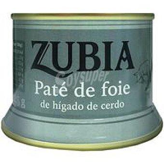 Zubia Paté de foie Lata 125 g