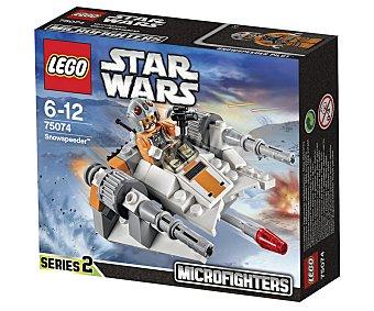 LEGO Juego de construcciones Star Wars Microfighters Snowspeeder, modelo 75074 1 unidad