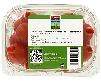 Auchan Producción Controlada Tomate Cherry auchan producción controladas 250 gramos