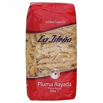 La Isleña Pasta plumas rayadas de sémola de trigo duro Bolsa 500 g