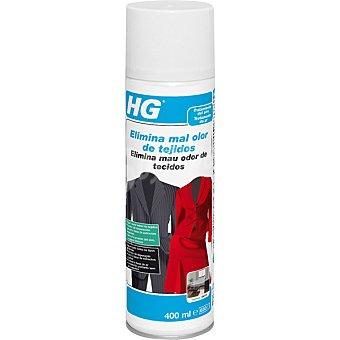 HG Elimina mal olor de tejidos Spray de 400 ml