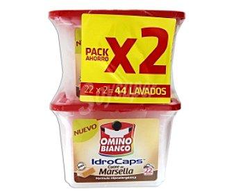 OMINO BIANCO Detergente en cápsulas Jabón de Marsella 44c
