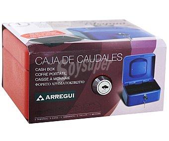 ARREGUI Caja de Caudales T1 con Sistema de Apertura y Cierre Mediante Llave 152x80 Milímetros 1 Unidad