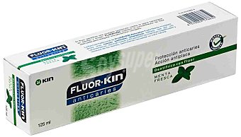 Kin Kin Fluor Anticaries Menta 125 ml