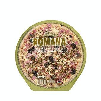 Hacendado Pizza fresca romana (jamon, aceitunas y champiñones salteados) U 430 g