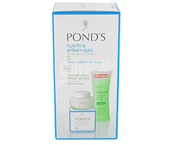Pond's Crema Nutritiva Antiarrugas 75 Mililitros