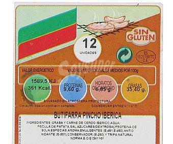 Campogrill Butifarra ibérica pincho 400 Gramos