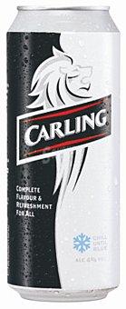 Carling Cerveza rubia importación británica Lata 50 cl