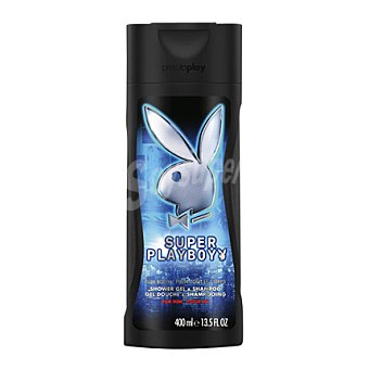 Playboy Fragrances Gel de Ducha Súper Hombre 400 ml