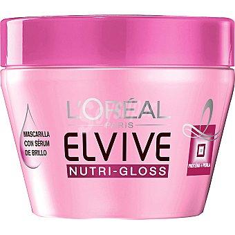 Elvive L'Oréal Paris Mascarilla Nutri-Gloss Tarro 300 ml