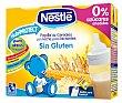 Papilla líquida de cereales con leche sin gluten desde 6 meses Pack 2x250 ml Nestlé Papillas
