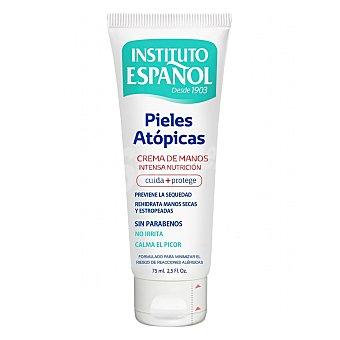 Instituto Español Crema de manos para pieles atópicas 75 ml